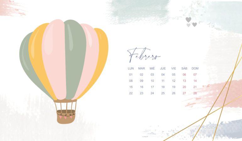 calendario descargable febrero 2021 escritorio
