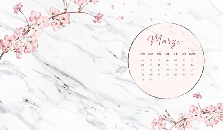 calendario marzo 2021 descargable